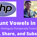 Count Vowels in PHP