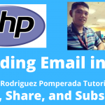 Sending an Email Using PHP
