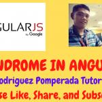 Palindrome in AngularJS