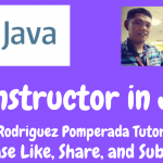 Constructor in Java