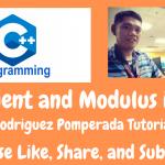 Quotient and Modulus in C++